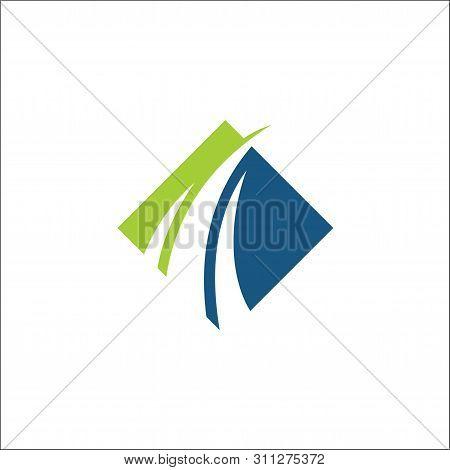Financial Logo Vector Consulting Template Swoosh,finance Logo