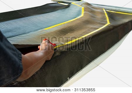 Carbon Fiber Texture Background ,dark Carbon Fiber Background