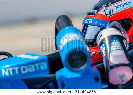 July 13, 2019 - Toronto, Ontario, CAN: FELIX ROSENQVIST (10) of Sweden practices for the Hondy Indy Toronto at Streets of Toronto in Toronto, Ontario.