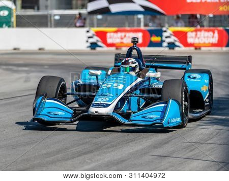 July 13, 2019 - Toronto, Ontario, CAN: MAX CHILTON (59) of England  practices for the Hondy Indy Toronto at Streets of Toronto in Toronto, Ontario.