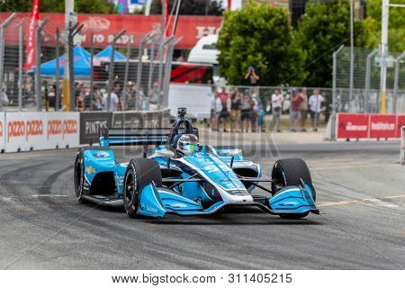 July 12, 2019 - Toronto, Ontario, CAN: MAX CHILTON (59) of England  practices for the Hondy Indy Toronto at Streets of Toronto in Toronto, Ontario.