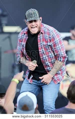 WANTAGH, NY - JUL 13: Jon Langston performs in concert at Northwell Health at Jones Beach Theater on July 13, 2019 in Wantagh, New York.
