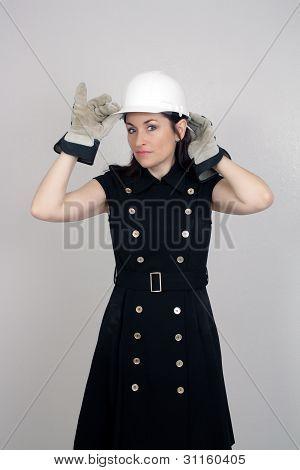 Beautiful Female Construction Worker (5)