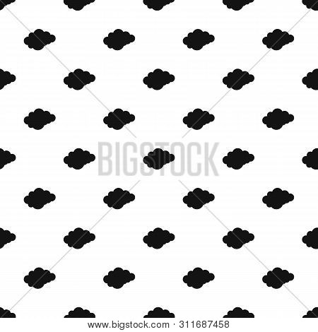 Cloud With Downfall Pattern Seamless Repeat Geometric For Any Web Design