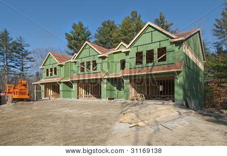 New condo construction