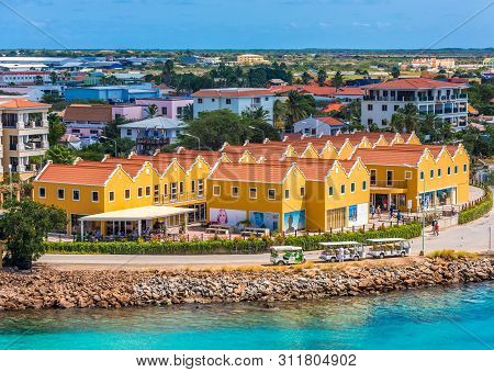 Kralendijk, Bonaire- February, 23, 2017: Being South Of The Hurricane Belt And Because Of The Consta