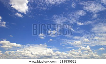 Blue Sky And Clouds Sky