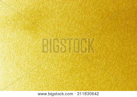 Gold Polished Metal Steel