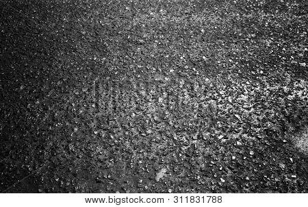 Asphalt Road Background Texture