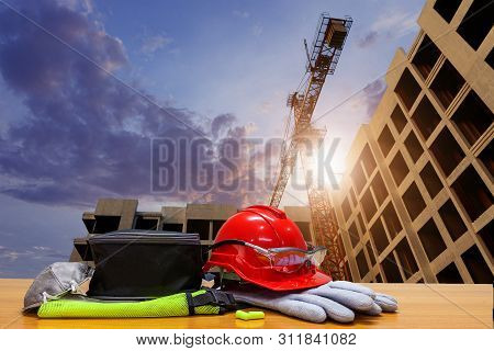 Equipment Standard Safety Construction And Construction Site Area. Business Construction. Constructi