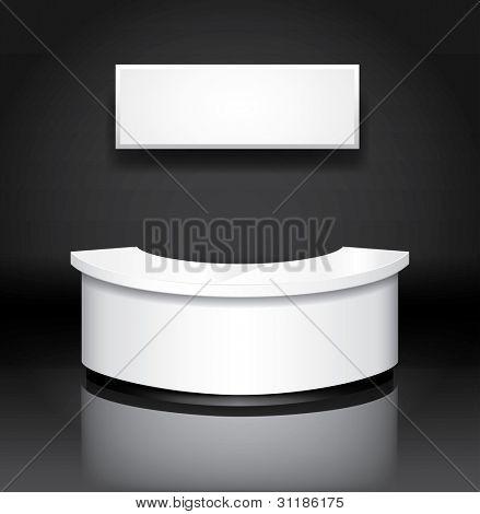 Vector reception/exhibition counter