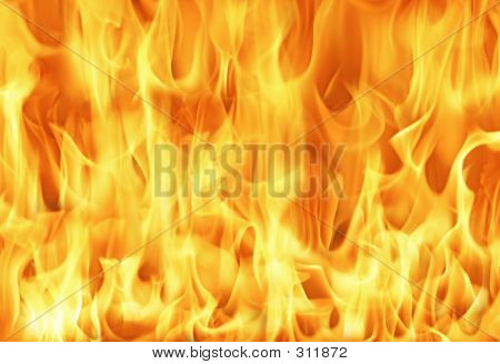 Big Fire Background