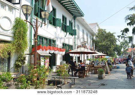 Kota Tua Or Old City In Jakarta, Indonesia