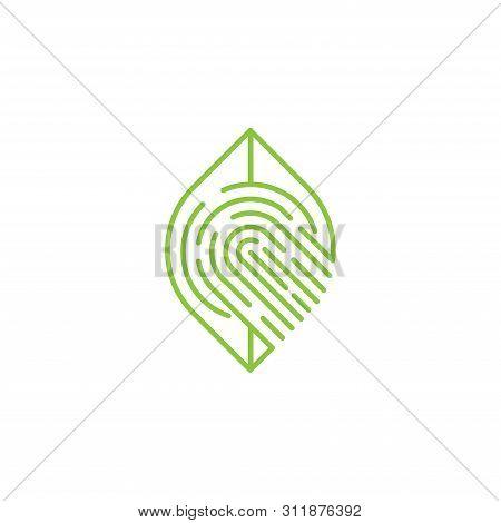 Fingerprint. Fingerprint icon. Fingerprint vector. Fingerprinticon vector. Fingerprint logo. Fingerprint symbol. Fingerprint vector icon. Fingerprint icon isolated flat on white background. Fingerprint icon simple sign for logo, web, app, UI.