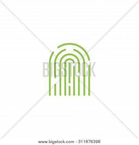 Fingerprint. Fingerprint icon. Fingerprint vector. Fingerprinticon vector. Fingerprint logo. Fingerprint symbol. Fingerprint vector icon. Fingerprint icon isolated flat on white background. Fingerprint icon simple sign for logo, web, app, UI. Fingerprint