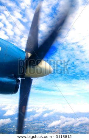 Propellor Flugzeug