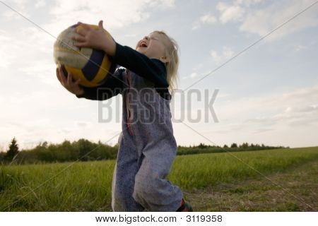 Young Volleyballer