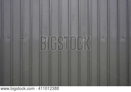 A Sheet Metal Cladding For Using As Background, Wallpaper , An Intresting Photo