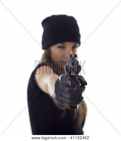 Shooting Woman