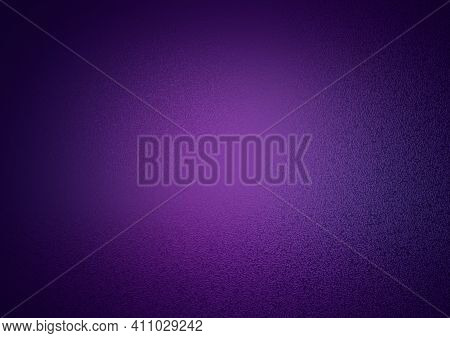 Frosty Background. Frosted Colored Glass. Glass Corrugated Texture. Frosty Lilac Background With Blu
