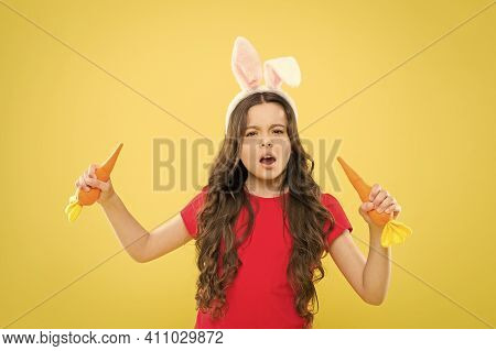 Healthy Food. Child Bunny Ears. Diet For Health. Play With Food. Benefit Of Eating Carrot. Easter Ca