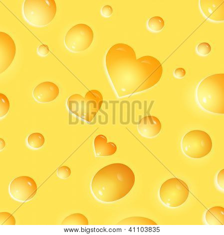 texture of the cheese.vector