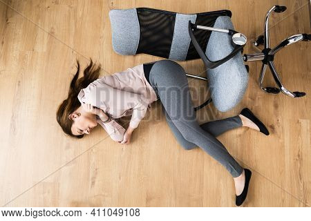 Slip Fall Office Chair Accident At Workplace