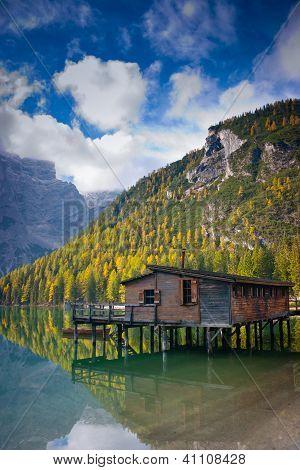 Braies Lake Hut