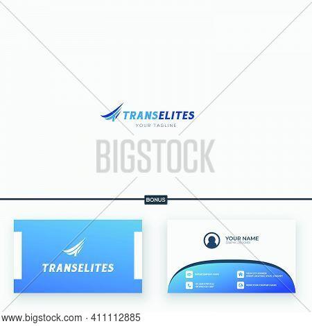 Fast Transport Trucking Logo Shipping Speed Te