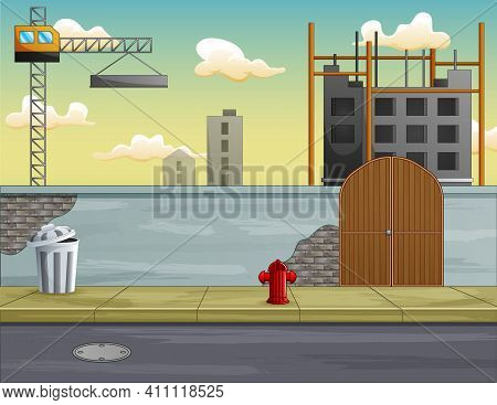 Background Of Process Construction Building A House