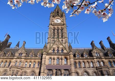 Manchester City Landmark (uk). City Hall. Uk Landmark.
