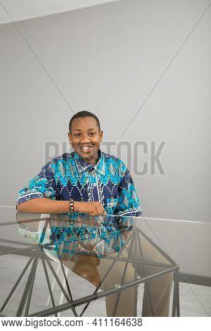 Black African Entrepreneur Dennis Ngango