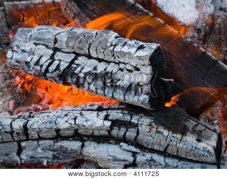 Burninging Firewood