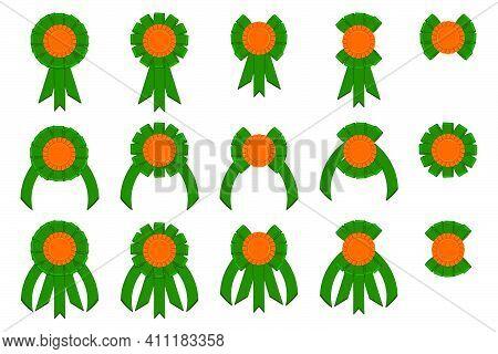 Irish Holiday St Patrick Day, Big Set From Trophy Rewards. Pattern St Patrick Day Consisting Of Many