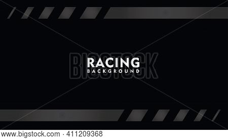 Black Racing Background, Racing Square Background\n Vector