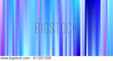Holographic Pastel Soft. Vibrant Blue, Teal, Neon Concept. Trend Multicolor Website. Holographic Vec