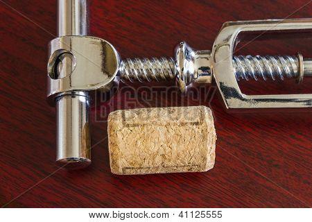 Cork With Corkscrew