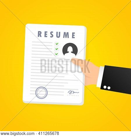 Resume Icon Set. Searching A Job. Selecting Staff. Searching Professional Staff. Analyzing Personnel