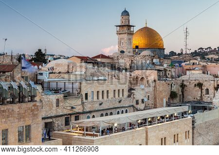 Nice View Of The Dome Of The Rock
