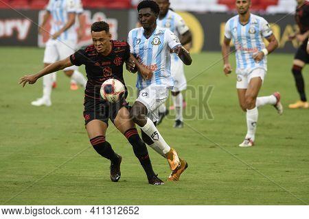 Rio, Brazil - March 06, 2021: Rodrigo Muniz Player In Match Between Macae V Flamengo By Carioca Cham