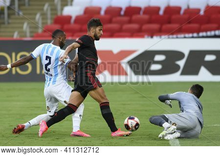 Rio, Brazil - March 06, 2021: Pepe Player In Match Between Macae V Flamengo By Carioca Championship