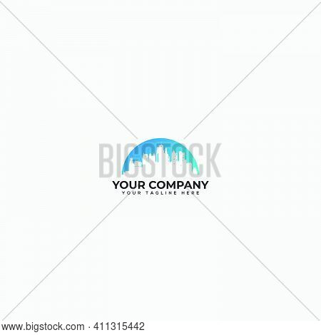 Beautiful Skyline Logo, Town Skylines, City Skylines Logo