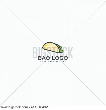 Bao Logo Chinese Food And Restaurant Food