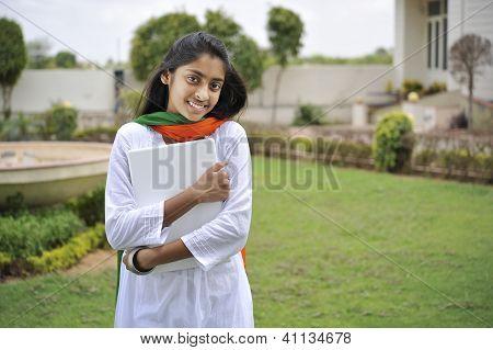 Girl Expressing Freedom