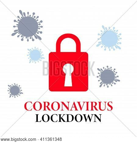 Stop The Pandemic Covid-19 Coronavirus Outbreak 2019-ncov Quarantine. Stop The Coronavirus. The Conc