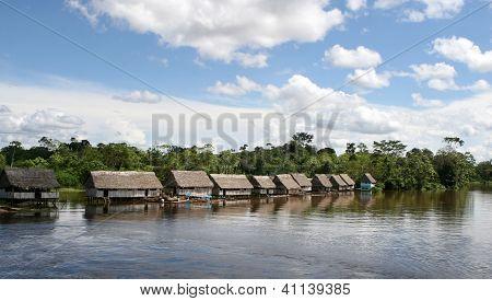 Indigenous Village Of Peru