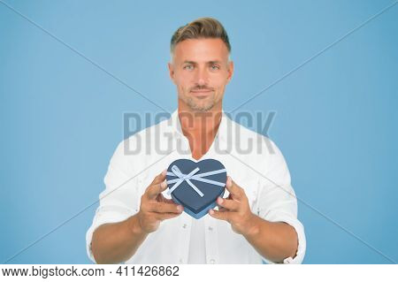 Sincere And Honest. Shopping Online. Romantic Surprise. Loving Boyfriend Shopping Before Date. Hands