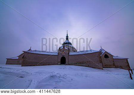 The Pilgrim Church Of St. John Of Nepomuk On Zelena Hora - Green Mountain, Zdar Nad Sazavou, Czech R