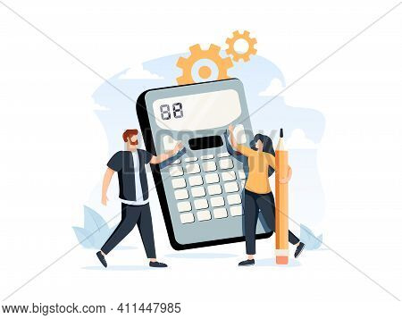Financial Documents And Forms, Paperwork. Accountant Appointment, Filing The Taxes, Tax Return Metap
