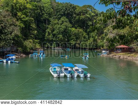 Small Marina At Drake Bay, Costa Rica